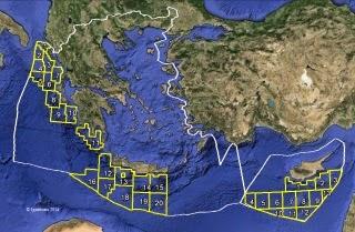 Ελληνική Αποκλειστική Οικονομική Ζώνη (ΑΟΖ) - Νίκος Λυγερός. Greek EEZ - Nikos Lygeros