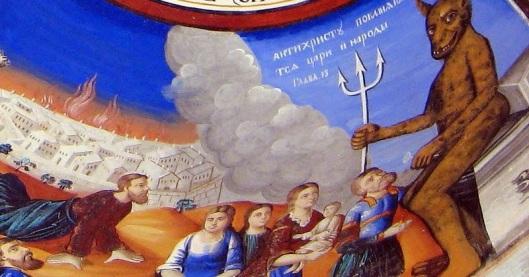 Αποτέλεσμα εικόνας για Ο Αντίχριστος θα πηγαίνει στην Εκκλησία