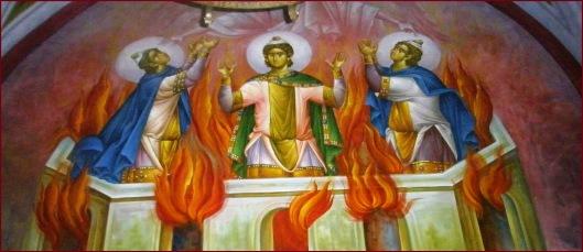Αποτέλεσμα εικόνας για δανιηλ προφητης και τρεις παιδες