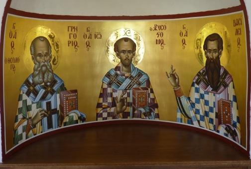 Αποτέλεσμα εικόνας για τρεις ιεραρχες