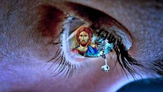 Αποτέλεσμα εικόνας για χριστος δακρυ