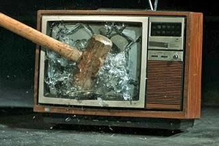 Αποτέλεσμα εικόνας για Σπάστε τις τηλεοράσεις