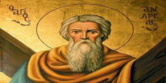 Αποτέλεσμα εικόνας για αγιος ανδρεας πρωτοκλητος βιος