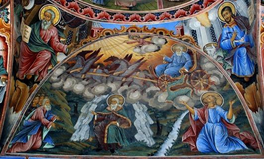 Έκτακτο Παράρτημα: Προφήτες Ηλίας, Ενώχ και άγιος Σεραφείμ του Σαρώφ