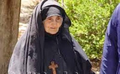 Αποτέλεσμα εικόνας για γερόντισσας Μαριάμ της Νέας Μονής Χίου