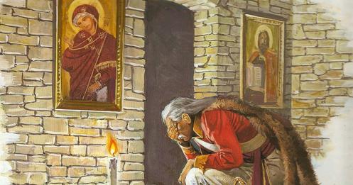 """Αποτέλεσμα εικόνας για Κολοκοτρώνης:""""Παναγία μου, βοήθησε και τούτην την φορά τους Έλληνες διά να εμψυχωθούν""""."""