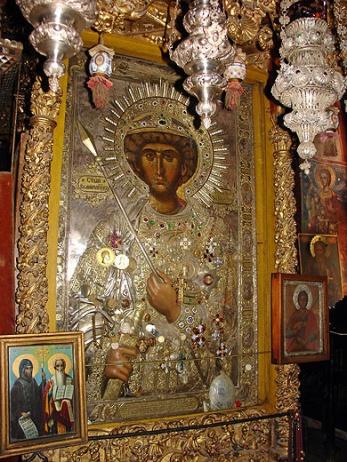 Αποτέλεσμα εικόνας για αγιος γεωργιος ιερα μονη ζωγραφου