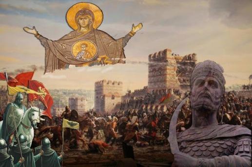 Αποτέλεσμα εικόνας για Τα τείχη της Κωνσταντινούπολης θα χωρίζουν πάντα το Φως από το σκοτάδι