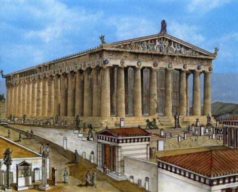 Αποτέλεσμα εικόνας για Το μυστικό του Παρθενώνα: Γιατί μένει όρθιος επί 2.500 χρόνια ενώ δεν έχει θεμέλια