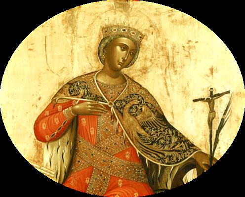 Αποτέλεσμα εικόνας για H Aγία Αικατερίνη, η Παναγία και το δαχτυλίδι του Χριστού