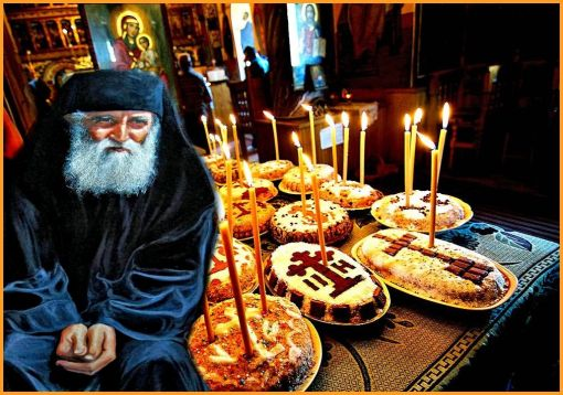 Αποτέλεσμα εικόνας για αγιος παισιος για κεκοιμημενους