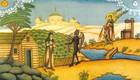 Αποτέλεσμα εικόνας για Ο μοναχός και ο δαίμονας που έκανε κήρυγμα