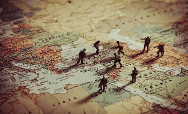 Αποτέλεσμα εικόνας για «Μπαρούτι» η Μέση Ανατολή