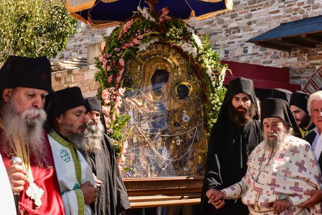 ΑΓΩΝΑΣ ΑΓΩΝΙΖΟΜΕΝΩΝ ΟΡΘΟΔΟΞΩΝ ΧΡΙΣΤΙΑΝΩΝ: Του Γέροντα Γρηγορίου Ηγουμένου  της Ιεράς Μονής Δοχειαρίου: Οκτώ του Σεπτέμβρη, Γιορτή της Παναγούδας