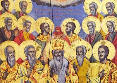 Πνευματικοί Λόγοι: Σκόπια: Αποκατάσταση τοιχογραφίας των Πεντεκαίδεκα  Μαρτύρων της Τιβεριούπολης