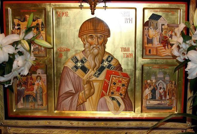 Δημοφάντης: Άγιος Σπυρίδων: Προστάτης των Φτωχών, Πατέρας των Ορφανών,  Δάσκαλος των Αμαρτωλών