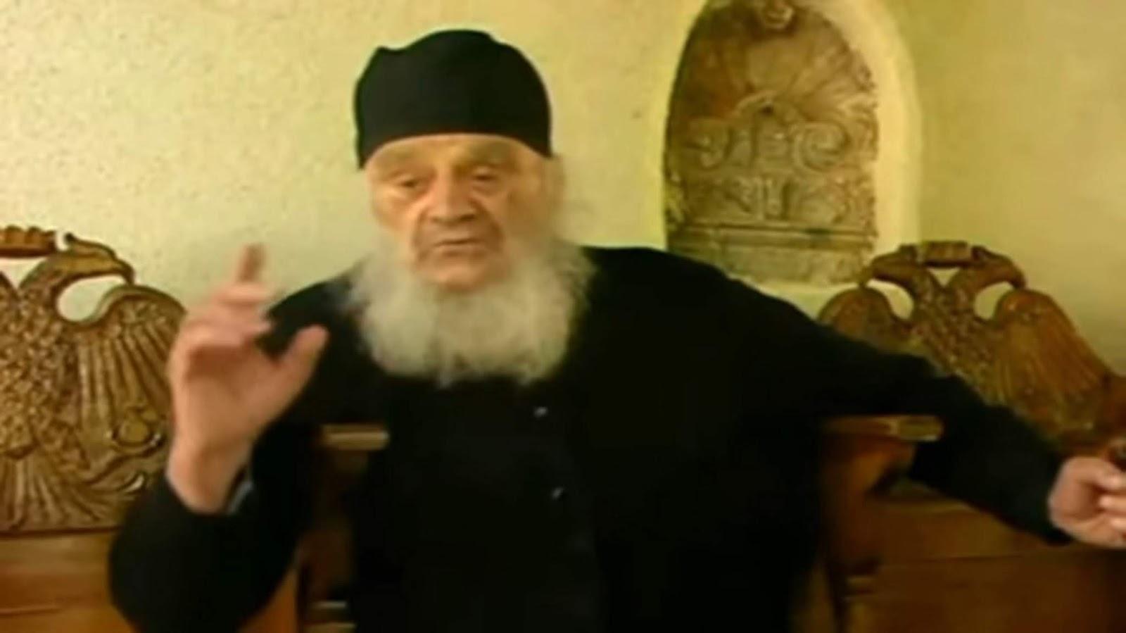 ΣΟΚΑΡΕΙ Ο διορατικός και προορατικός Αγιος ΓΕΡΩΝ ΑΜΒΡΟΣΙΟΣ ΛΑΖΑΡΗΣ...!!''ΜΗΝ  ΑΚΟΥΤΕ ΨΕΥΔΟΠΡΟΦΗΤΕΣ....Από τα 10 εκατομμύρια Έλληνες θα σωθούνε...τα 2  εκατομμύρια...ΟΣΟΙ ΔΕΝ ΑΛΛΑΞΟΥΝ...ΟΣΟΙ ΚΡΑΤΗΣΟΥΝ...ΣΑΣ ΛΕΩ ΤΙ ΘΑ  ΣΥΜΒΕΙ...ΤΙ ΝΑ ΑΠΟΦΥΓΕΤΕ...ΑΚΟΥΣΤΕ ΜΕ ...
